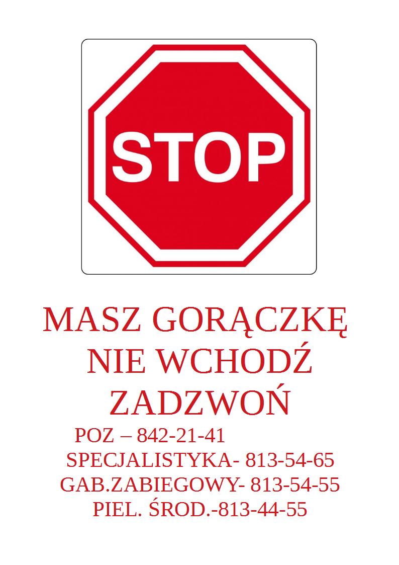 STOP - nie wchodź